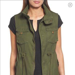 Pleione - Cotton Twill Military Vest